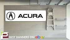 Acura Workshop Garage Banner, nsx, rsx, integra