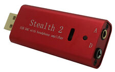 WISS AUDIO STEALTH-2 CONVERITORE DAC USB CON AMPLIFICATORE CUFFIE E DIGITAL OUT