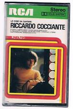 RICCARDO COCCIANTE LE COSE DA CANTARE MC K7 MUSICASSETTA SIGILLATA!!!