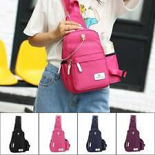 Women Men Crossbody Sling Backpack Chest Shoulder Bag Travelling Cycling Hiking