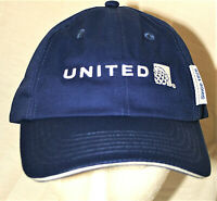 Official United Airlines Since 1926 UAL Jet Cap Hat New Tags Baseball OSFM