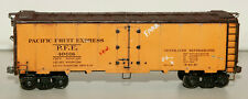 O GAUGE LOBAUGH PACIFIC FRUIT EXPRESS REEFER 40016 TWO RAIL