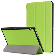 Leather Slim Case Smart Stand Folio Cover For Huawei MediaPad Tablet T3 7, 8, 10