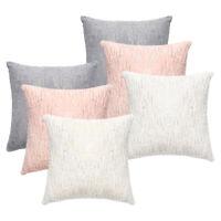 "18"" Velvet Soft  Throw Pillow Case Cover Sequined Cushion Sofa Square Home Decor"