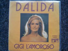 Dalida - Gigi l'amoroso/ Tenia 18 anos 7'' Single SUNG IN SPANISH