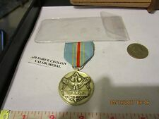 OLD Department of the Air Force Command Civilian Award for Valor Medal un  Named