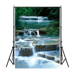 Photography Background Backdrop Wall Poster Decor Nature Waterfall View
