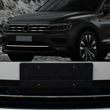 Stainless Car Accessory Front Bumper Cover Trim for Volkswagen VW Tiguan 17-19