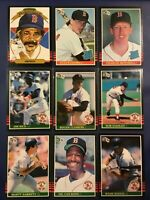 1985 Donruss BOSTON RED SOX Complete Team Set 23 ROGER CLEMENS RC Sharp LOOK !
