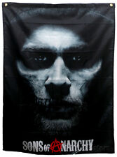 Sons of Anarchy - Jax Skull Banner Fabric Poster Print, 29x38