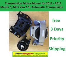 M408 For 2012-2014 Mazda 5 2.5L AUTO Rear Motor Rear Torque Strut /& Trans Mount