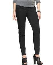 Gap Maternity NWT Black Coated Leggings Jeans Pants 32 / 14 $70