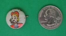 Kellogg's Pep Pin Tess Trueheart 1946 Comic Strip Series Famous Artists Syn  B