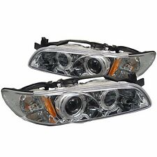 Spyder Auto Pontiac Grand Prix Chrome Halogen Projector Headlight