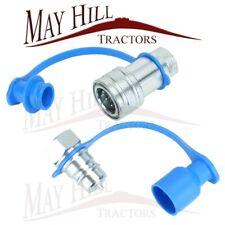 APUK Hydraulic Fitting Coupling 1//2 BSP Set Compatible with Massey Ferguson John Deere Tractor