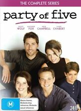 Party Of Five Complete Season Series 1, 2, 3, 4 & 5 DVD Box Set R4 New Sealed