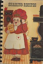 *LYNBROOK *VALLEY STREAM NY 1984 SHARING RECIPES COOK BOOK *LOCAL ADS *NEW YORK