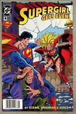 Supergirl #4-1994 vf- Newsstand Variant Roger Stern