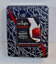 The Twilight Saga Journals 4 keepsake in collectible tin factory sealed Meyer