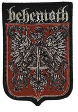 More details for behemoth - eagle - woven patch sew on aufnäher écusson parche black death metal