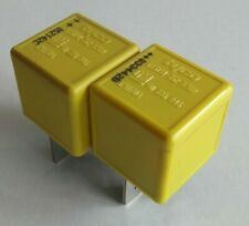 SAAB VAUXHALL GM Yellow Relay PAIR 12V 70A 90226846