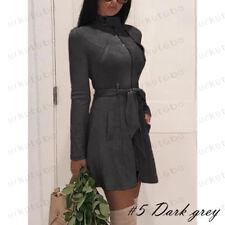 Womens Winter Zipper Hooded Hoodie Jacket Coat Casual Long Sleeve Tops Outwear