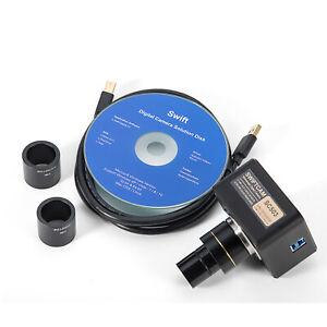 SWIFTCAM SC503-CK 5MP HD Digital Camera USB3.0 for Microscope+Calibration  Kit