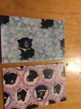 Vintage panda american asia  Wrapping Paper Sheet Gift Wrap 2 sheets  BC3