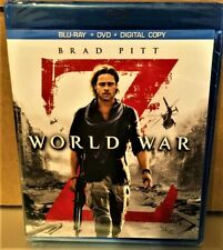 World War Z (Blu-ray/Dvd 2013, 2-Disc Set, Plus Digital Copy) Brand New, Sealed
