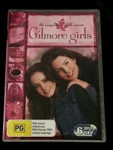 Gilmore Girls : Season 5 (DVD, 2006, 6-Disc Set) Very Good Condition Region 4