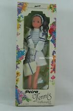 Petra Barbie sized clone doll from Plasty Tennis in original package