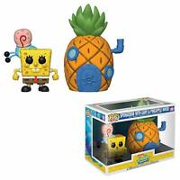 Funko Pop! Town: Spongebob Squarepants - Spongebob with Pineapple Vinyl Figure