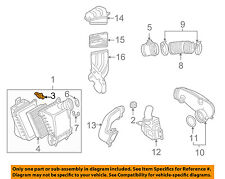 AUDI OEM A4 Quattro Air Cleaner Intake-Air Cleaner Assembly Rivet 8E0129557A