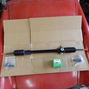 100% New Steering Rack + Pair Lucas Tie Rod Ends MG Midget 1962-1967 W Warranty
