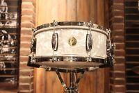 Gretsch USA 5.5x14 60's Marine Pearl Nitron Snare Drum - New!