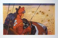 MOEBIUS SERIGRAPHIE LA NACELLE - ALAIN LITTAYE 1983