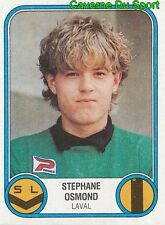 087 STEPHANE OSMOND STADE LAVALLOIS VIGNETTE STICKER FOOTBALL 83 PANINI