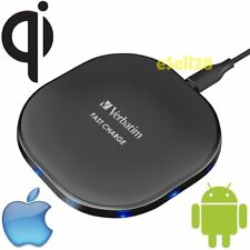 Verbatim Qi Chargeur Sans Fil Charge Rapide Tampon Pour iPhone Android Mobile
