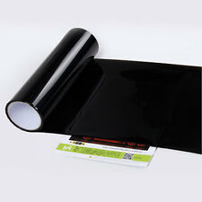 Headlight Tint Film 50cmx30cm DARK SMOKE Polyurethane Waterproof Self Adhesive