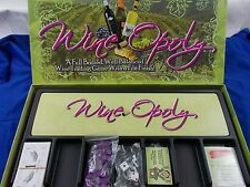 Wine-opoly Wineopoly Board Game Monopoly Wine Lovers tokens money wine cheese