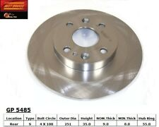 Disc Brake Rotor-Disc Rear Best Brake GP5485