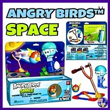 K'NEX ANGRY BIRDS Building Set SPACE- LIGHTNING BIRD vs. FROZEN HELMET PIG KNEX