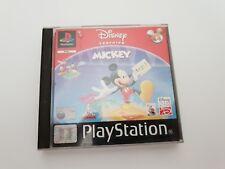 RARE Disney's Learning With Mickey SONY PLAYSTATION DISNEY INTERACTIVE
