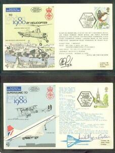 Mail Delivery Methods commeorating London 1980 and flown by RAF (2015/11/22#2)