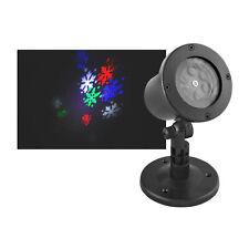 Proyector Láser LED Luces Navidad Jardín Aire Libre Bolas de Nieve de Color IP44