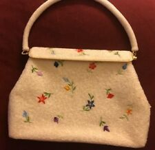 New listing Vintage embroidered evening purse