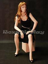 Fiberglass Female Mannequin Fleshtone Color Dress Form Display Md A5f1