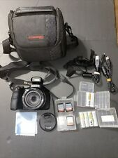 Sony DSC-H300/BM 20.1MP High Zoom Point and Shoot Camera 35x Zoom Black w Accsrs