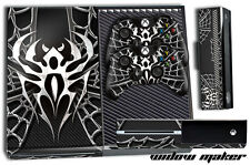 XBOX ONE 1 Skin Game Console Decal Plus 2 Controller Stickers Spider WIDOW MAKER