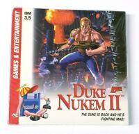 1993 Software Labs DUKE NUKEM II 2 IBM 3.5 Floppy Disk Game Apogee - SEALED RARE